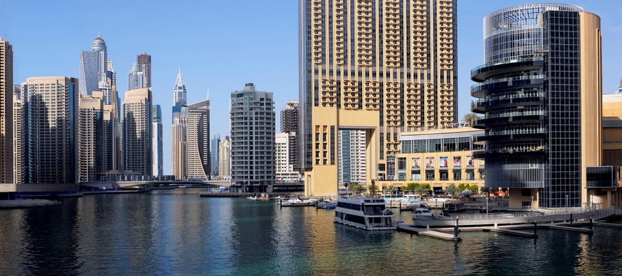 Dubai, The Address Marina/Montgomerie, Acentro