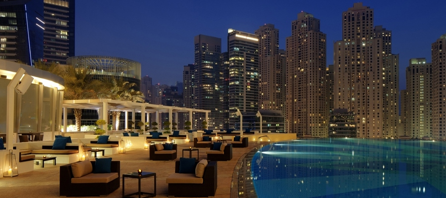 Dubai, The Address Marina/Montgomerie