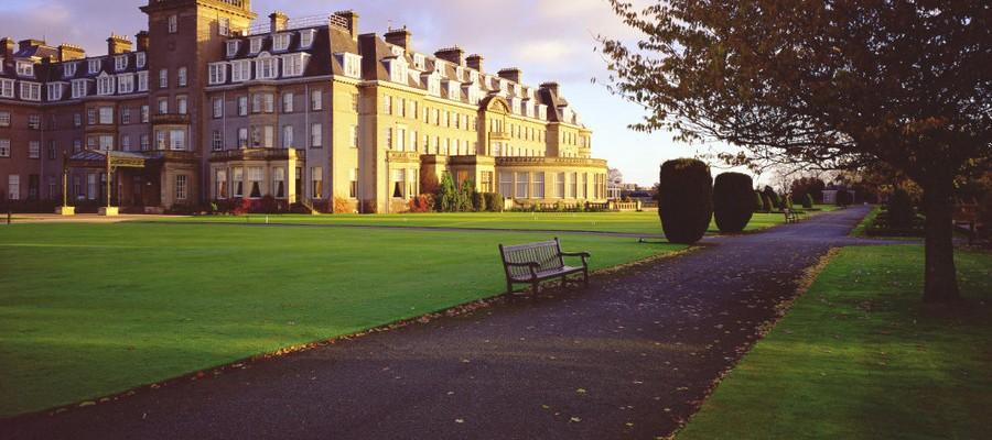 Scozia, Gleaneagles Hotel, Acentro