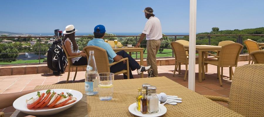 Almenara, terrazza, golf