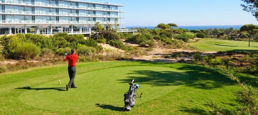 Oitavos campo da golf