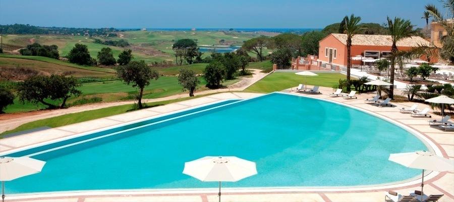 Acentro, Golf, Donna Fugata, Sicilia, mare