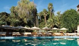Es Saadi piscina esterna, giardino