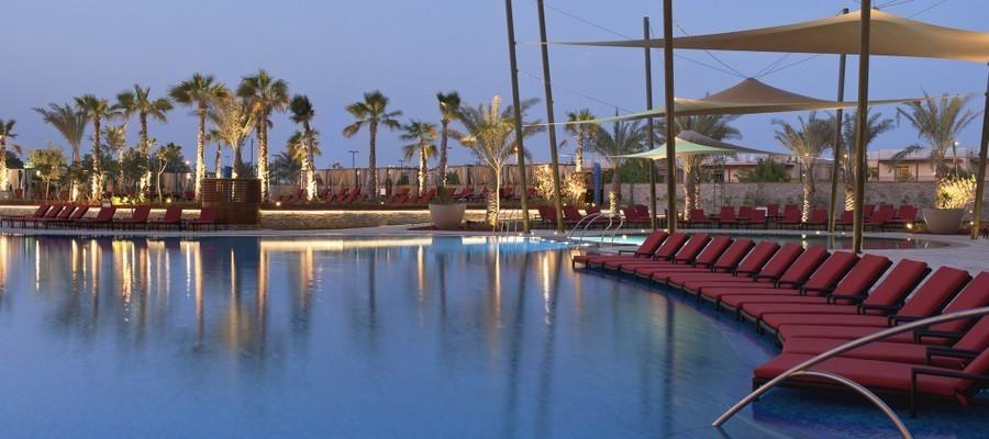 Westin abu dhabi piscina, golf vacanze emirati arabi