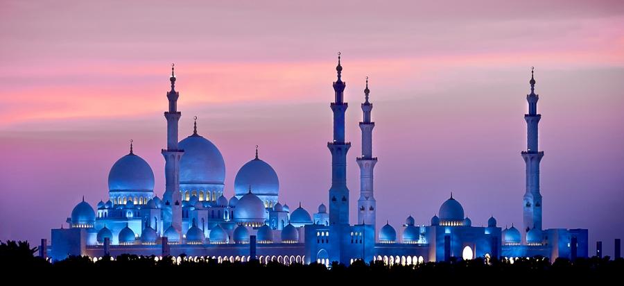 Abu Dhabi Acentro golf mare viaggio Moschea Sheikh Zayed