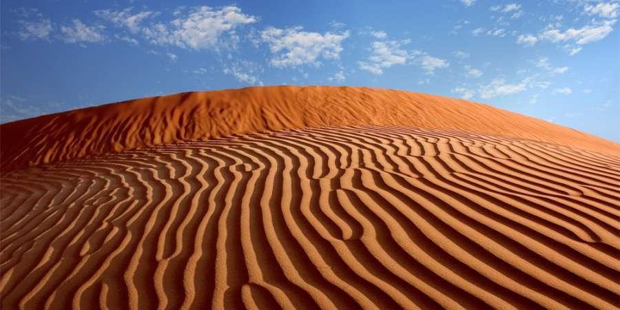 Abu Dhabi Acentro golf mare viaggio Deserto