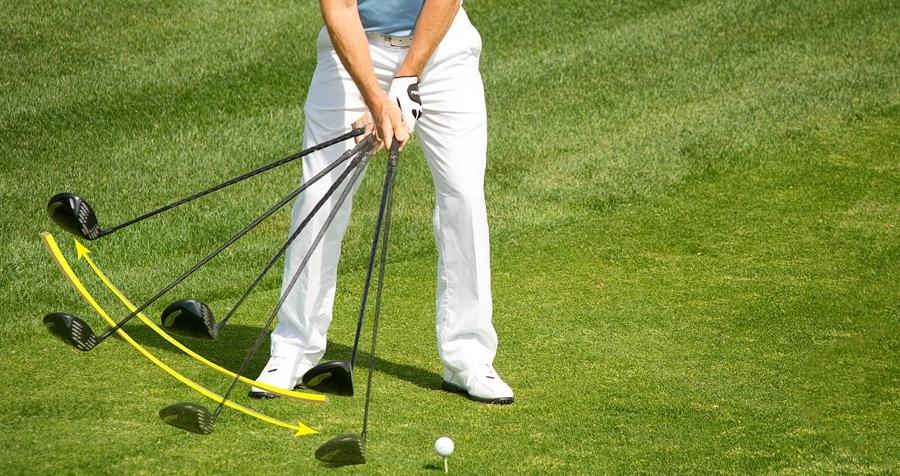 Consigli di golf, address