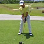 consigli di golf, grip, postura