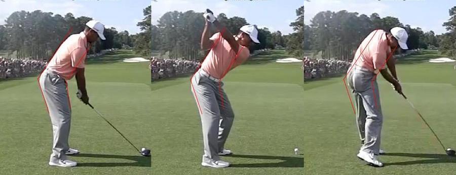 Consigli di golf, downswing
