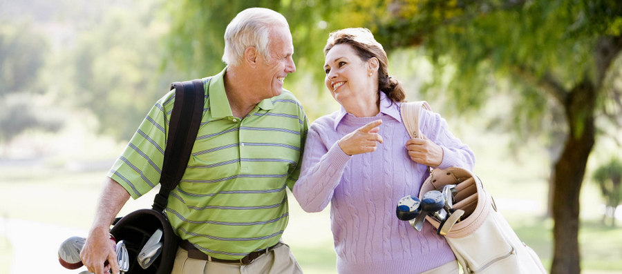 salute e benessere, golf, allunga la vita