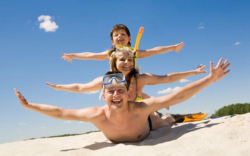 Vacanze con la famiglia, mare, viaggi