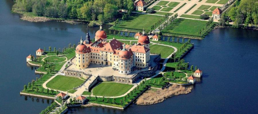 Castello di Moritzburg Sassonia Germania