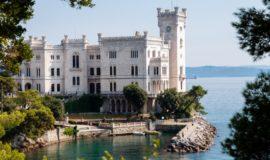 Italia Trieste Castello di Miramare