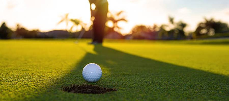 ombra sul green putting
