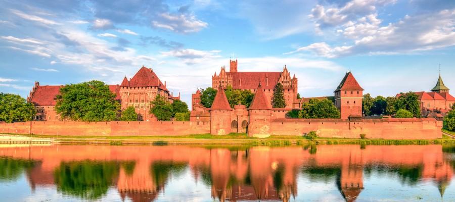 Castello di Malbork Danzica Polonia