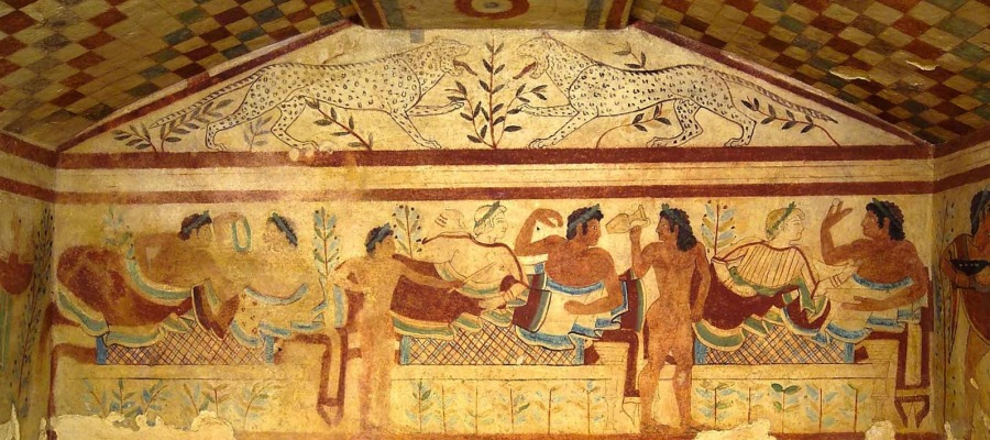 Tomba etrusca dei Leopardi Cerveteri