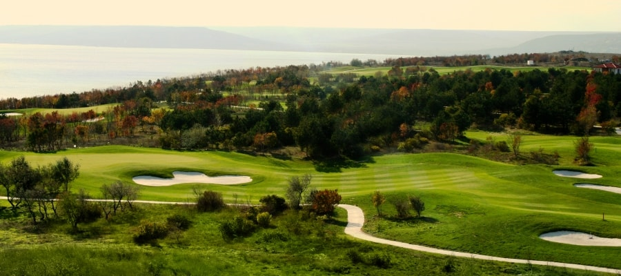 Bulgaria, Lighthouse, golf