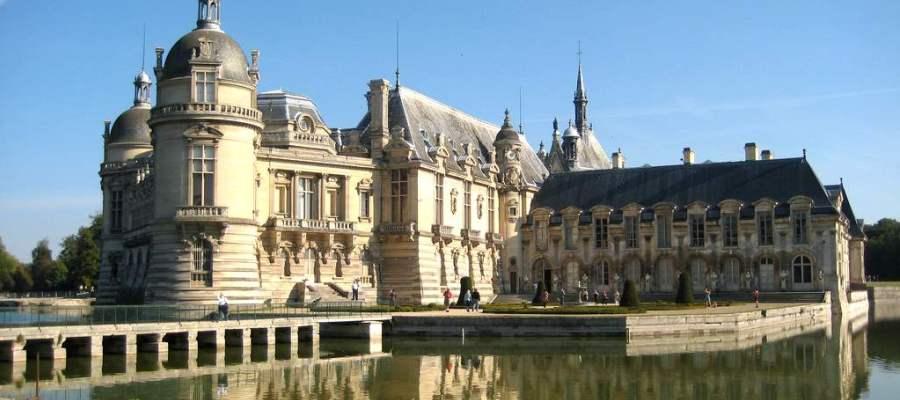 Castello Chantilly Loira Francia