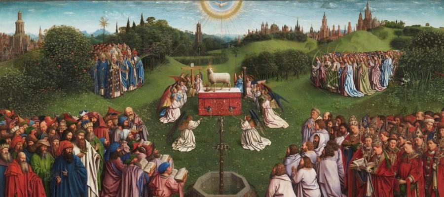 Polittico dell'Agnello Mistico Jan Van Eyck