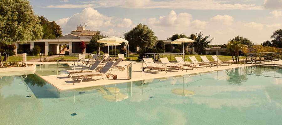 piscina golf resort i monasteri - Acentro Golfvacanze