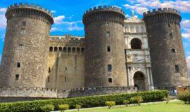 Maschio Angioino o Castel Nuovo Napoli